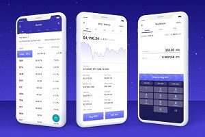 Voyager app crypto trading