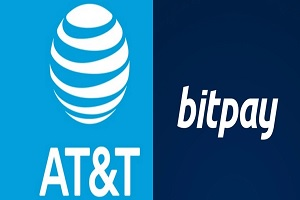 at & t accepts crypto via bitpay
