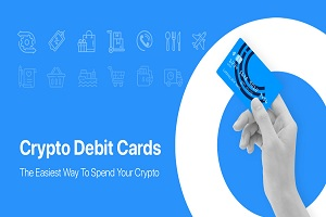 Crypterium crypto debit card