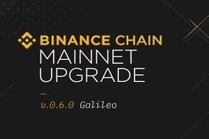 binance chain upgraded to galileo