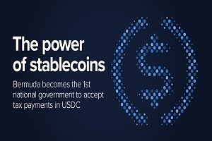 USDC Stablecoin accepted in bermuda