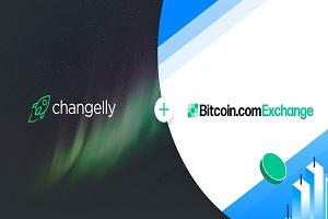 changelly + Bitcoin.com Exchange