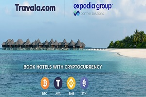 Expedia Partners With Crypto Service Travala.com for Crypto Bookings.