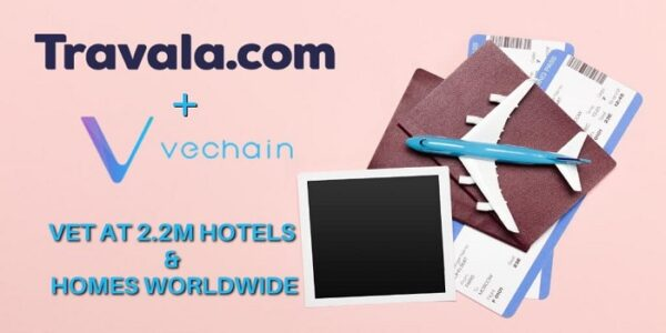 Travala.com Partners with VeChain to Integrate VET as Payment