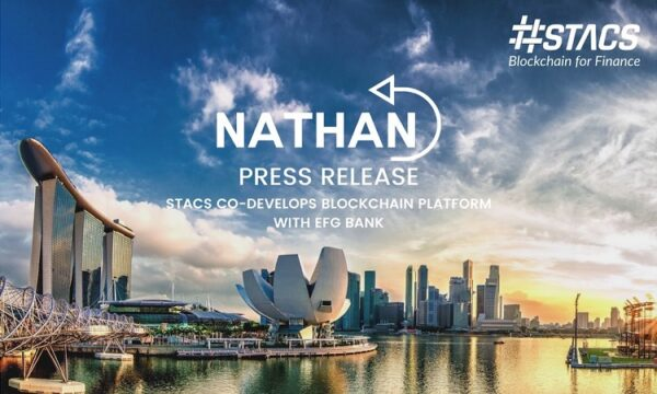 .Singapore FinTech Company, STACS, Co-Develops Blockchain Platform with EFG Bank